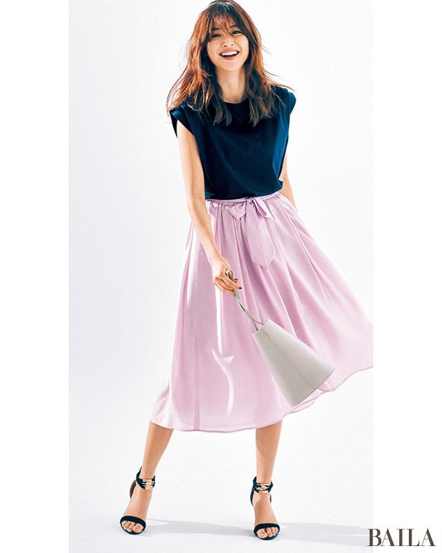 「涼しくて華やか」な【フェリース ルネス】の可愛げスカートが使える!_1