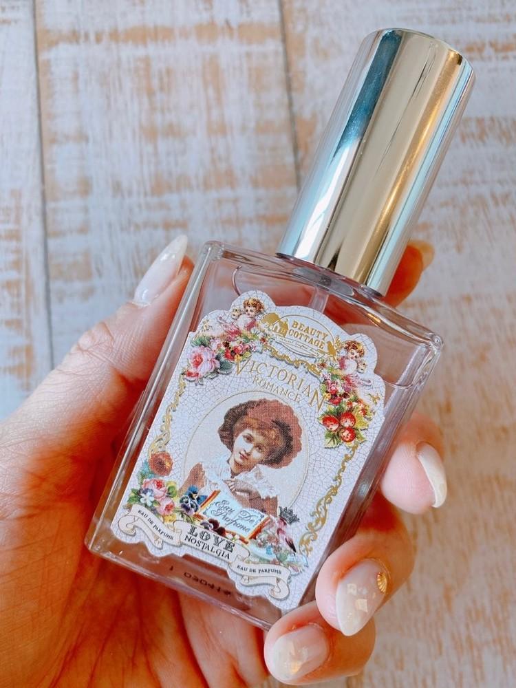 タイコスメの香水、「Beauty Cottage」(ビューティーコテージ)のビクトリアンロマンスシリーズ「ラブノスタルジア」を実際に試してみた