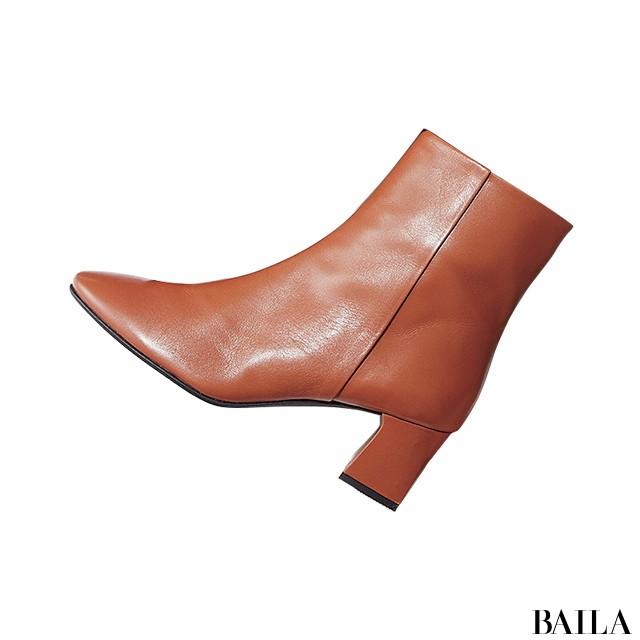 【ブーツ】この秋いちばん使えるから売れてるのはブラウン&太ヒール!_1_4