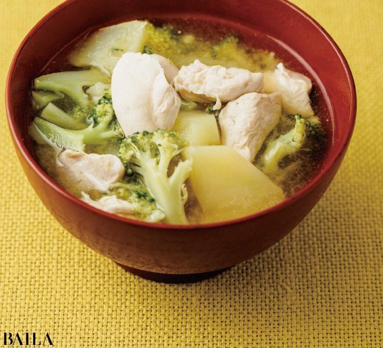 【みそ汁レシピ】ダイエットにも最適な<高タンパクみそ汁レシピ>4選_5