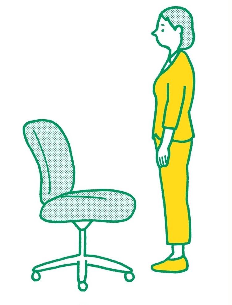 【番外編】座っていた椅子を使ったストレッチも♡脚裏伸ばしで巡りよく
