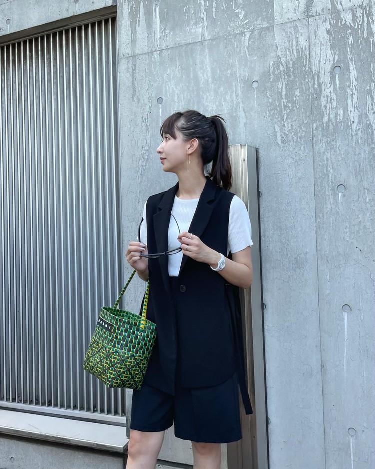 秋口まで使える【プチプラ】大人ショートパンツと万能ベスト♡_3