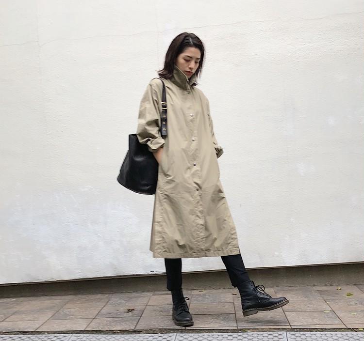 再販で入手!【UNIQLO U】春に即完売した薄軽コート(¥7990)_4