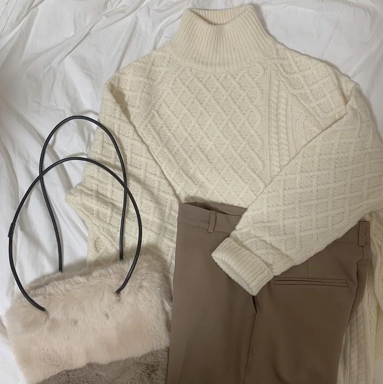 最愛knit♡秋冬ニットはこう着たい、4コーデ。_2
