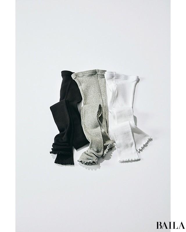 いつもの服に+1【オーラリー、ユニクロetc.】レギンス人気復活♡_1_7
