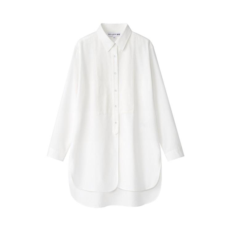 ユニクロ × イネス・ド・ラ・フレサンジュ 2021年秋冬コレクション オックスフォード チュニック(長袖)¥3990
