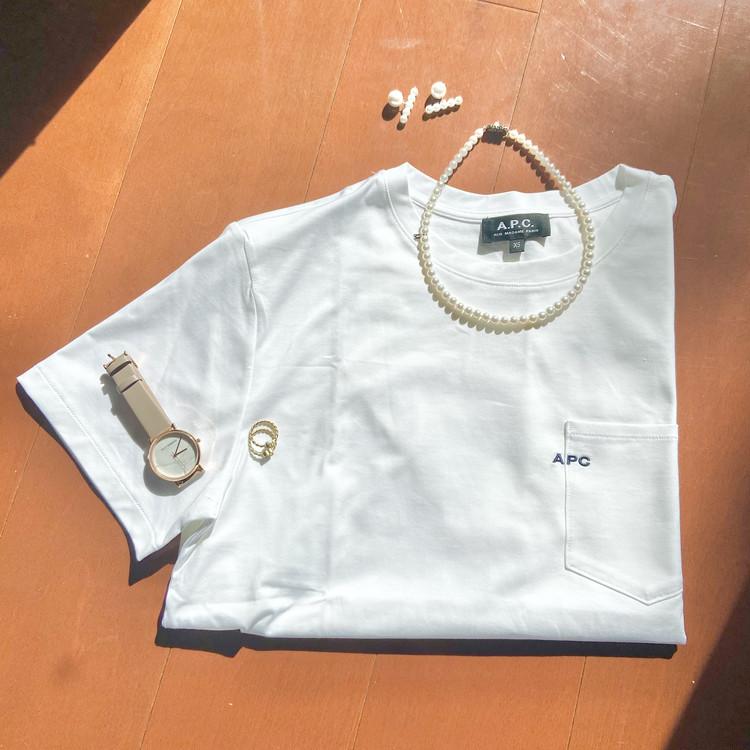 Tシャツにジュエリーを!シンプルTシャツを格上げ _3_1