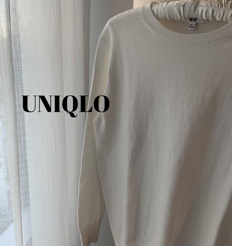 春先まで活躍。UNIQLOコットンカシミヤセーターの魅力_2