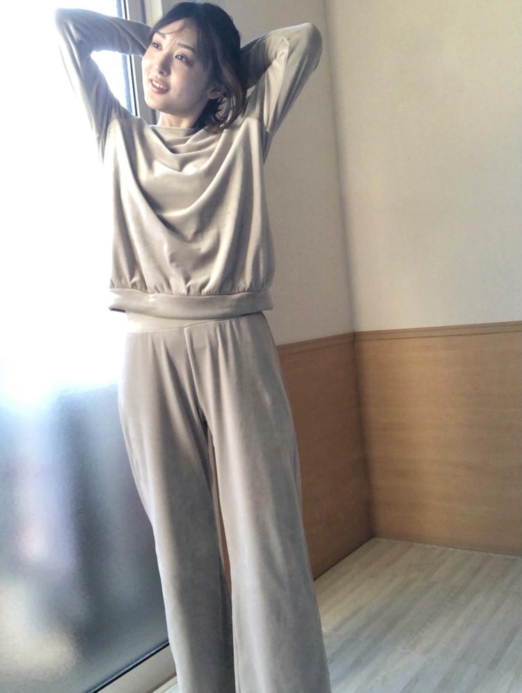 【UNIQLOリピ買いアイテム】家外両用使いもOK♡あったかルームウェア_6