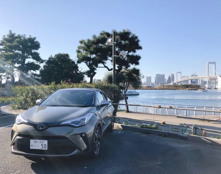 【動画】トヨタ C-HRで海沿いドライブ_2