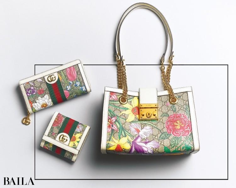 「GUCCI(グッチ)」からフローラ プリントの財布&バッグが登場!