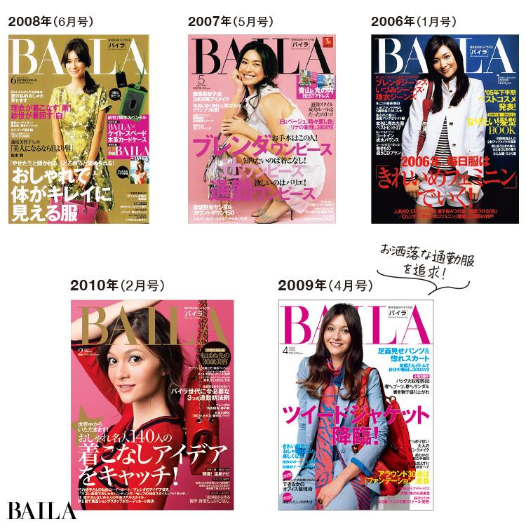 BAILA表紙2006-2010