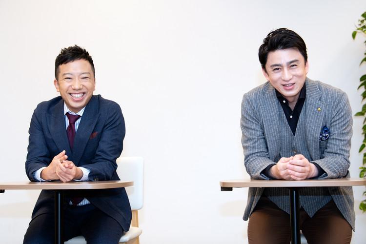 壽 初春大歌舞伎での市川猿之助と松本幸四郎の記者会見