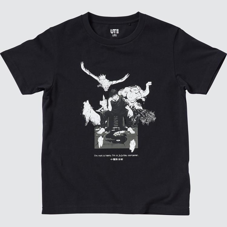 KIDS 呪術廻戦 UT グラフィックTシャツ 伏黒 恵(半袖)¥990