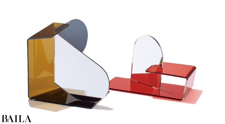 (右)MirrorCred¥4400・(左)MirrorAbrown¥5200/CIBONE(WARE)