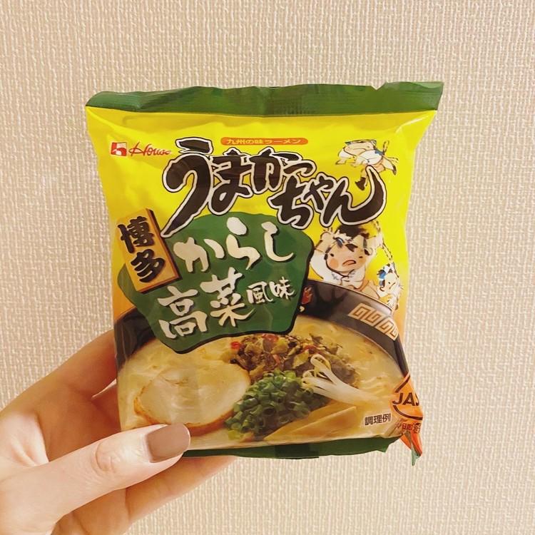うまかっちゃん 博多 からし高菜風味[ハウス食品]