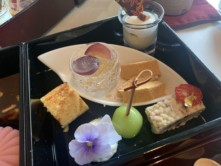 【気分は京都】パレスホテルの和のアフタヌーンティーが美味_4_1