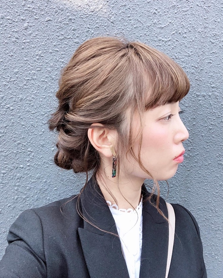 お気に入りのヘアアレンジは「お呼ばれ」「結婚式」にオススメ!_5