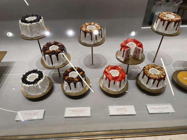話題の渋谷 MERCRE bisのシフォンケーキを。_4