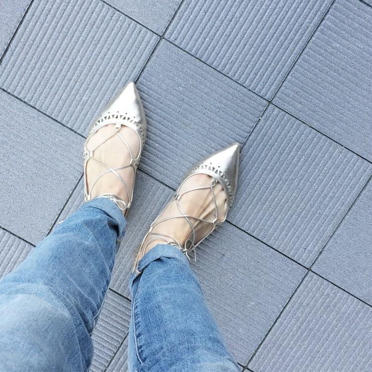 【休日コーデ】靴好きさんに薦めたい♡! カルツァイウォーリフィオレンティーニのレースアップシューズ_1