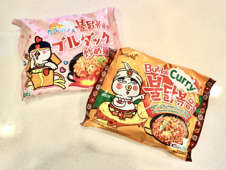 【プルダック炒め麺】辛いの苦手でもを美味しく食べる方法!!_1