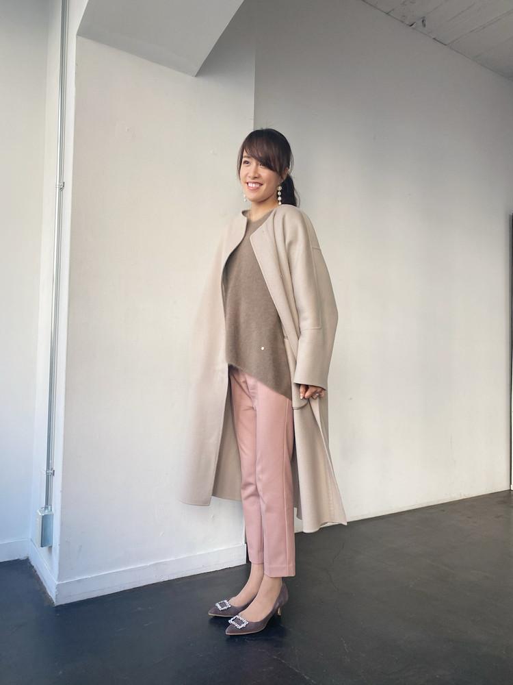 憧れコートと美脚パンツ_3