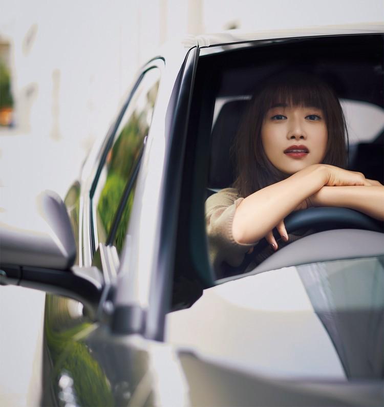 大きくてかっこいい車が好き。 遠出でも、ご近所でも、運転は楽しいよね