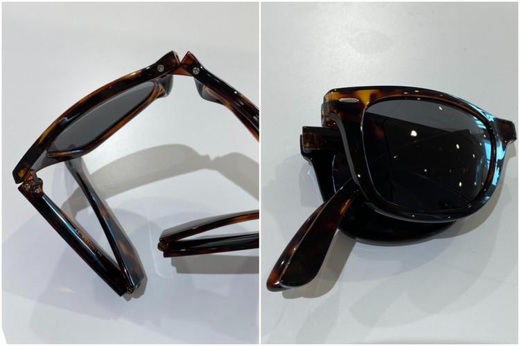 ユニクロ UNIQLO UVカット 紫外線対策 着る日焼け止め エアリズム サングラス 折りたたみ