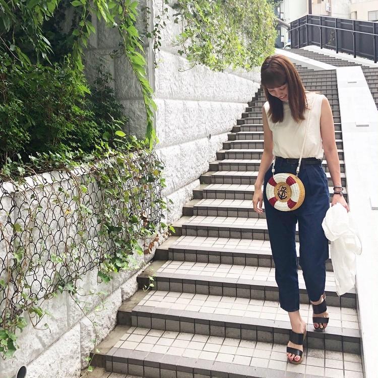 【2019年かごバッグまとめ】夏のファッションを彩る最旬マストアイテム!_24