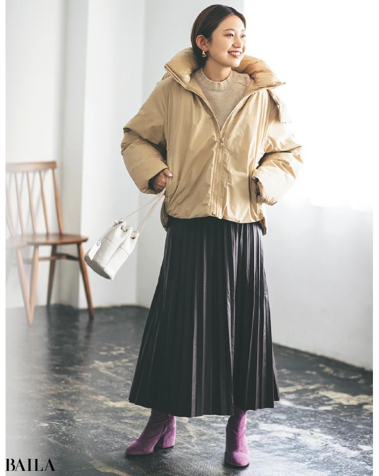 【30代スタイリストが私服でアンサーまとめ】リアルだから役に立つ。その冬服はもっと素敵に着られる!_3