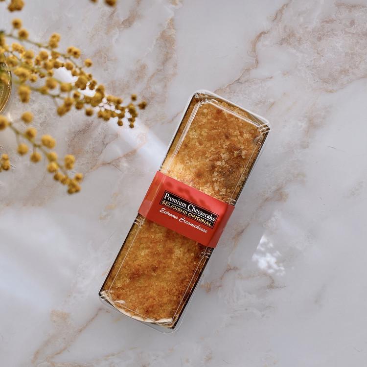 【成城石井】で一番売れている 「自家製 プレミアムチーズケーキ」のパッケージ