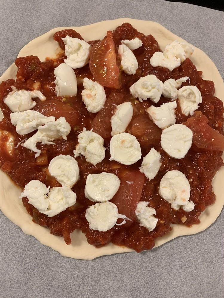 【おうちごはん】ピザ作り&万能バジルソース_2