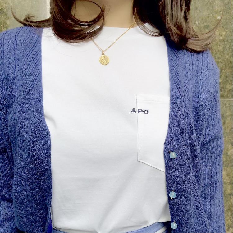 今年はどの白T買う?夏に備えたいきれいめロゴTシャツ_3