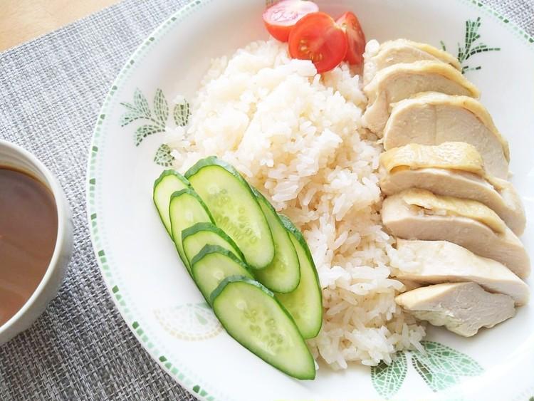 鶏むね肉で作った無印良品のカオマンガイ