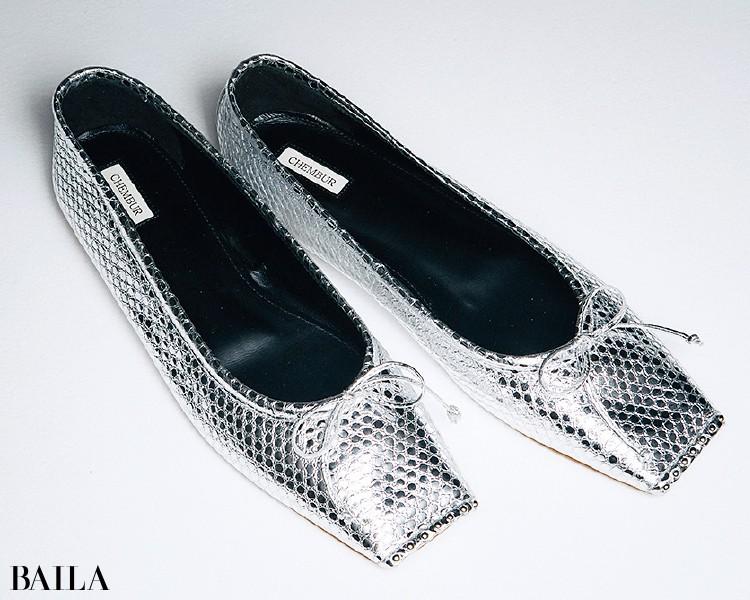 チェンバーの靴
