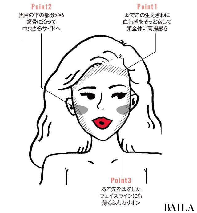 """ほのかな血色チークで美""""ほっぱい""""に!【#ほっぱい美容⑤】_2_5"""