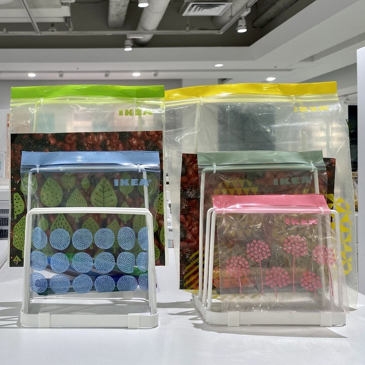 【イケア(IKEA)】渋谷で買って本当によかった! 2021年在宅QOL爆アゲおすすめアイテム フリーザバッグ「イースタード(ISTAD)」