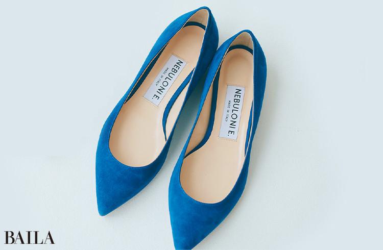 Cerulean Blue【セルリアンブルー】靴¥44000/フラッパーズ(ネブローニ)