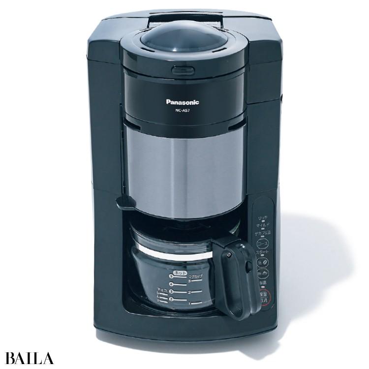 @BAILA編集長Tは《パナソニックのコーヒーメーカー》