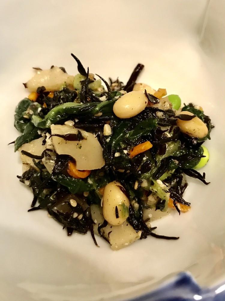 無印良品の冷凍食品「彩り野菜とひじきの煮物」実食感想(おいしい)