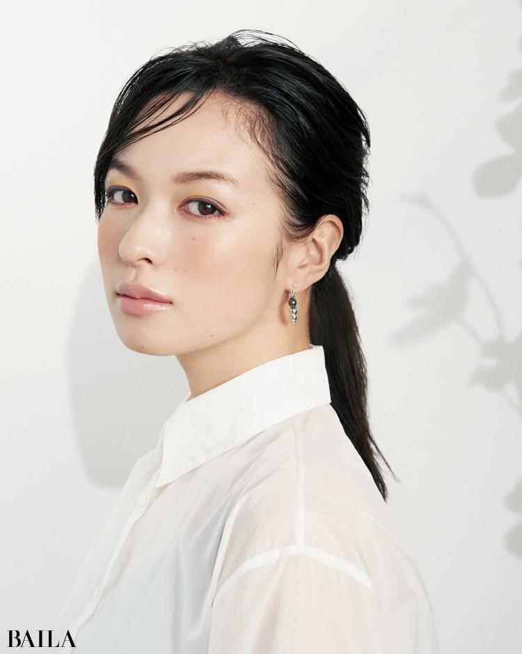 千吉良恵子さんのパープル&シトラスで知的カラフル