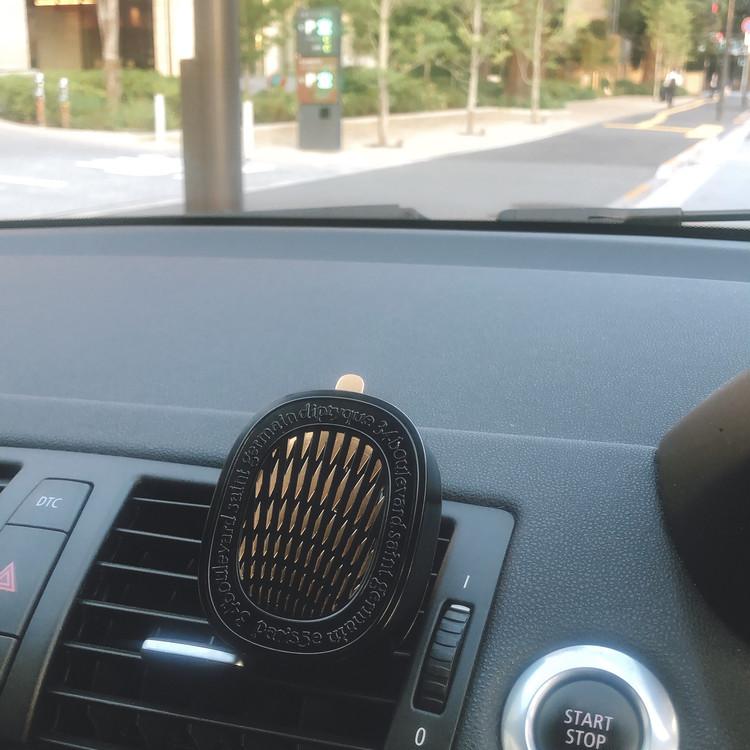 誰かを乗せても1人でも。ドライブ時間が至福になる「ディプティック」のカーディフューザー【エディターのおうち私物#256】_1