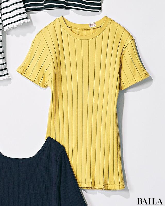 【甘め派・Tシャツ7選】フレンチシックTシャツで可愛げ+知的な印象をゲット!_2