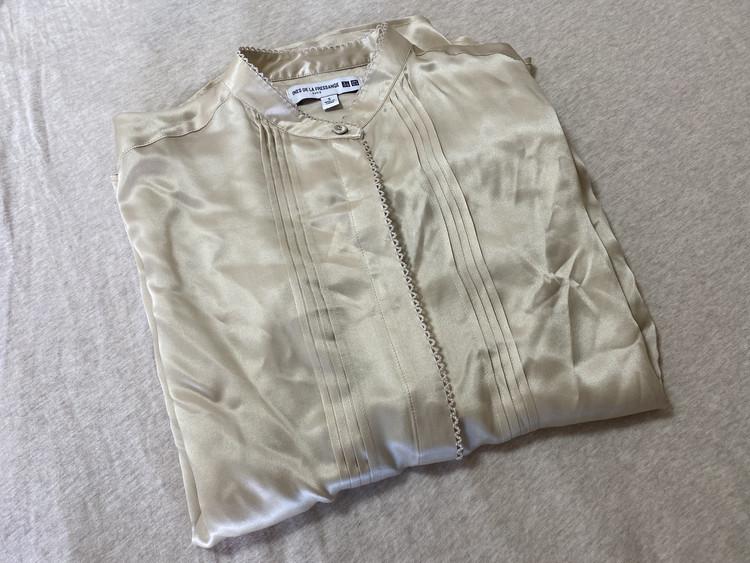 【UNIQLO】100%シルクシャツが7000円で買える⁉_2