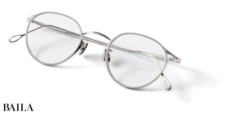アイヴァン7285のメタルフレームメガネ