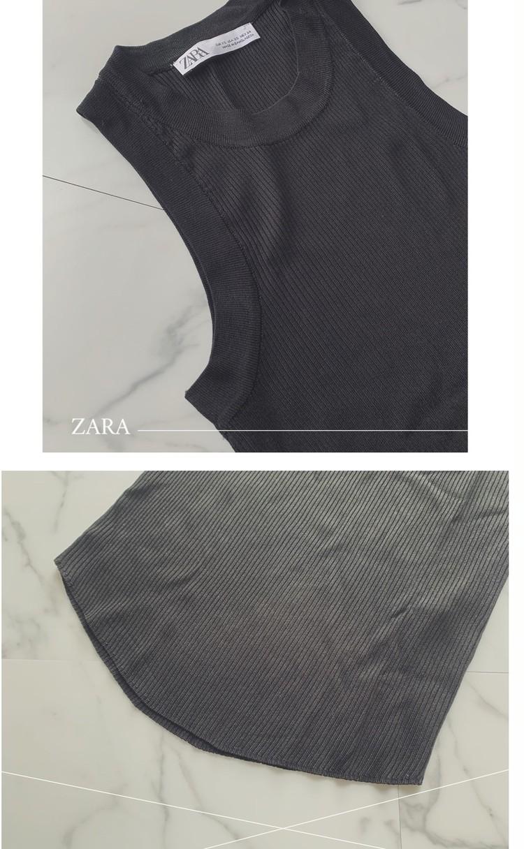 絶対買い!【ZARA】着回し力抜群タンクを双子でイロチ買い♡_3