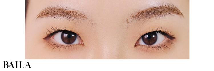 《After》アイシャドウ×アイライン×まつげの絶妙バランスで瞳全体が1.5割増。マットなシャドウが自然!