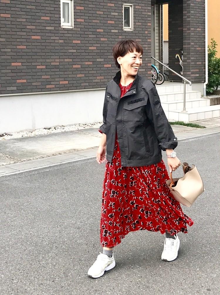 【ワークマン(WORKMAN)】ガチの作業着ジャケットを女子向けデイリー活用!_3