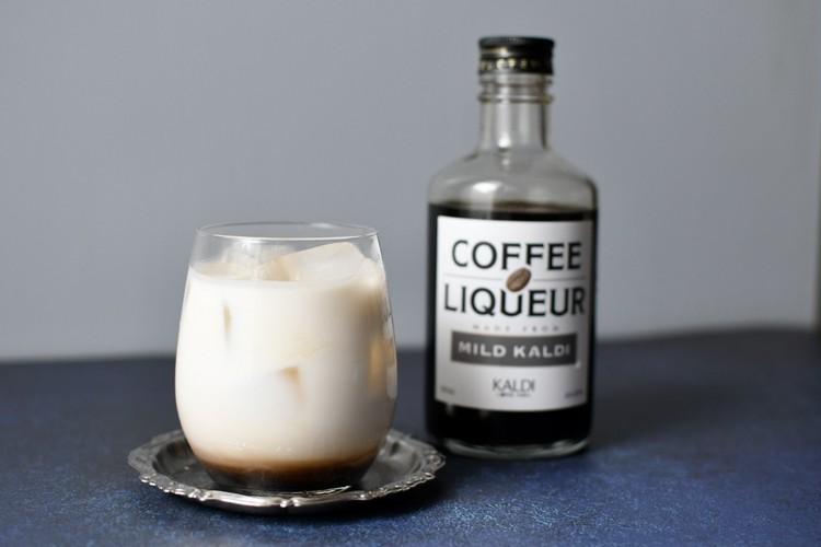 【カルディ】コーヒーリキュール マイルドカルディは、牛乳割りがおすすめ