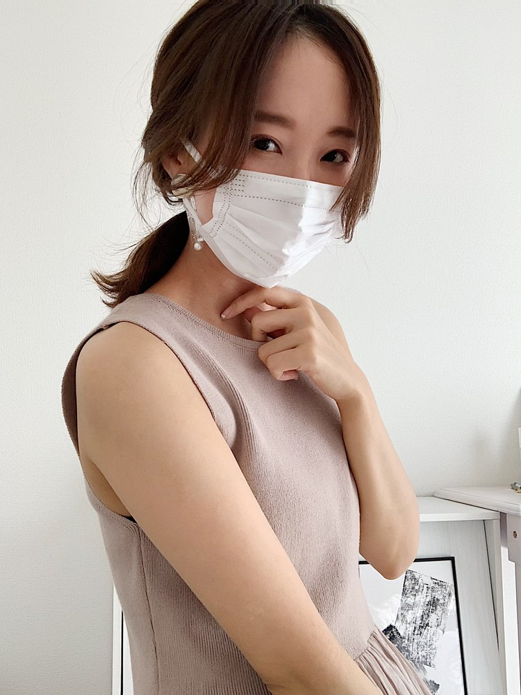 お洒落女子たちの「マスクの日の好印象ヘアアレンジ」5選_7